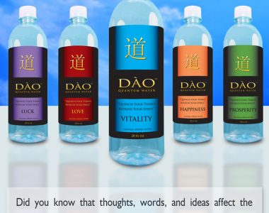 Dao Water Bottle Labels